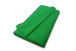 chromakey groen molton gordijn 4 meter breed x 295 meter hoog