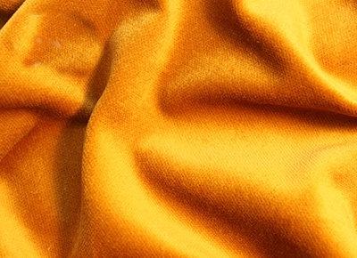 goud geel velours gordijn 3 meter breed x 3 meter hoog