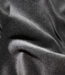 zwart velours gordijn 3 meter breed x 3 meter hoog